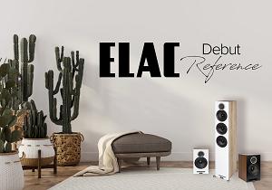 ELAC Debut Reference! Νέα και ανανεωμένη σειρά
