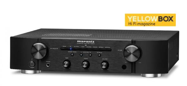 The New Marantz PM6007 stereo integrated amplifier. Πρώτη παρουσίαση στο νέο μας κανάλι στο youtube!