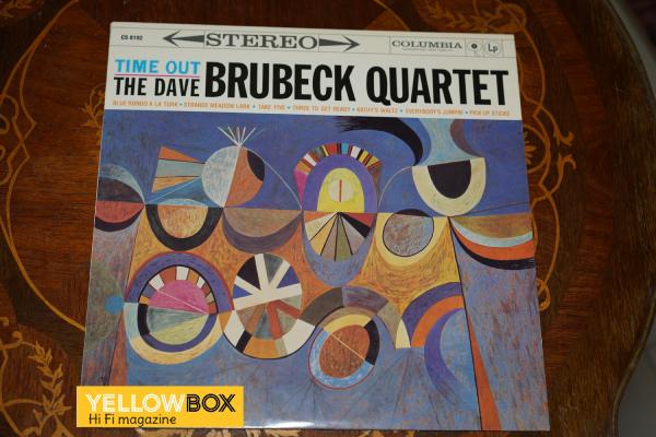 THE DAVE BRUBECK QUARTET. Time Out. Μοναδικό άλμπουμ.