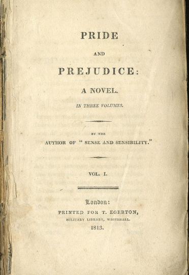 """Σαν σήμερα…28 Ιανουαρίου 1813, κυκλοφορεί το μυθιστόρημα της Τζέιν Όστεν """"Περηφάνια και Προκατάληψη"""""""
