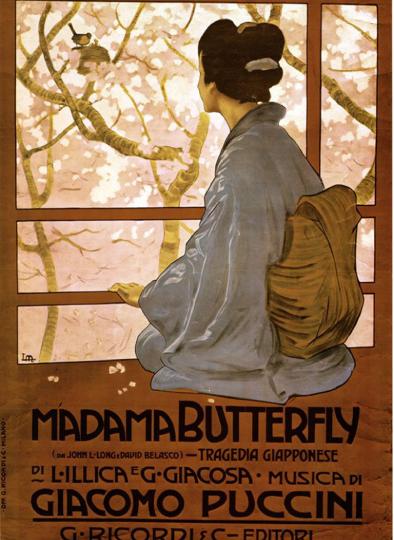 """Σαν σήμερα…17 Φεβρουαρίου 1904, η όπερα του Πουτσίνι """" Μαντάμ Μπατερφλάι """" κάνει πρεμιέρα στη Σκάλα του Μιλάνου."""