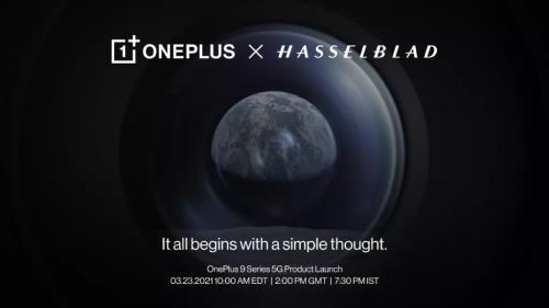 OnePlus 9. Επίσημη παρουσίαση στις 23 Μαρτίου. Η συνεργασία με τη Hasselblad είναι στο επίκεντρο.