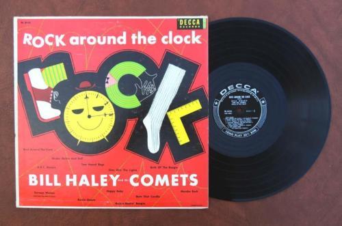 """Σαν σήμερα… 12 Απριλίου 195, οι Comets με τον Μπίλ Χάλεϊ, κυκλοφορούν το δίσκο """"Rock Around the Clock"""""""
