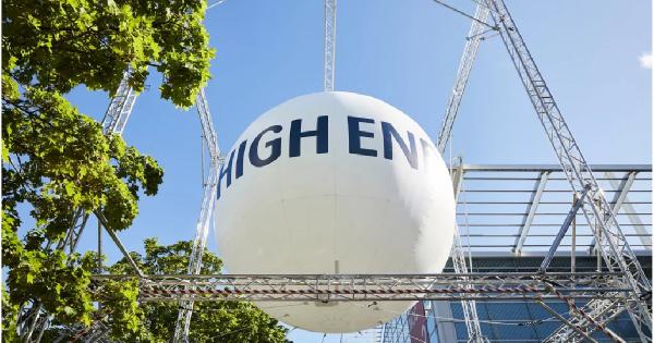 High End Munich 2021. Ακυρώθηκε και μεταφέρθηκε για το Μάϊο του 2022.