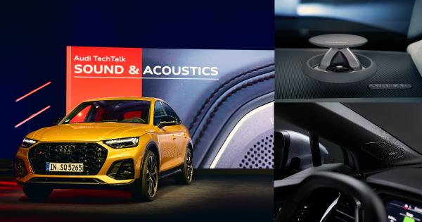 Audi. Sound and Acoustics. Η ηχητική φιλοσοφία της Audi για ακουστική αρμονία στο αυτοκίνητο.