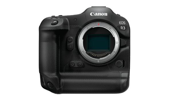 Canon EOS R3: High-end full-frame mirrorless.