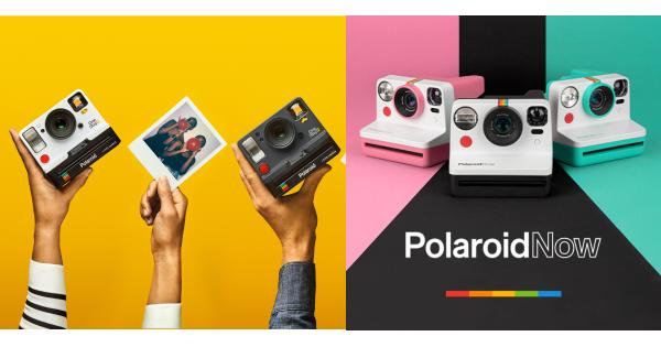 Νέα χρώματα για την Polaroid Now.