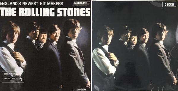 """Σαν σήμερα… 16 Απριλίου 1964, οι Rolling Stones, κυκλοφορούν το πρώτο τους άλμπουμ, με τον τίτλο """"The Rolling Stones""""."""