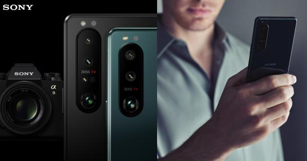 SONY Xperia 1 III και Xperia 5 III. Smartphone με τον πρώτο μεταβλητό τηλεφακό στον κόσμο, αισθητήρα Dual-PD και οθόνη 4K HDR OLED 120Hz.