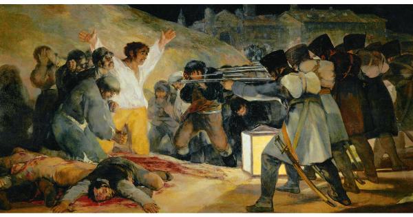 """Σαν σήμερα… 3 Μαΐου 1808, ο Γκόγια ζωγραφίζει τον περίφημο πίνακά του """"Οι εκτελέσεις της 3ης Μαΐου"""""""