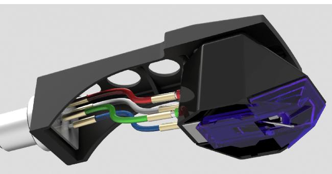 Goldring E3. Κεφαλή κινητού μαγνήτη.