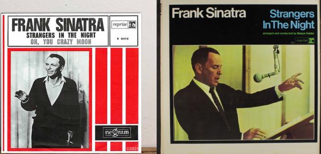 """Σαν σήμερα… 2 Ιουλίου 1966, ο Φράνκ Σινάτρα ανεβαίνει στο Νο1 του αμερικάνικου πίνακα επιτυχιών με το τραγούδι """"Strangers in the night"""""""