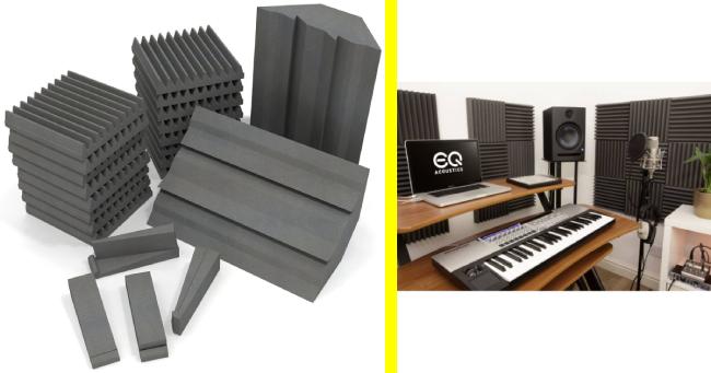 EQ Acoustics Panels: Βάζοντας τις άτιμες ανακλάσεις… στην θέση τους!