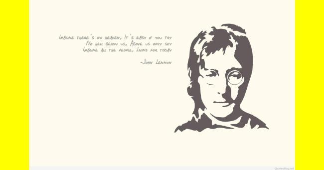 """Σαν σήμερα…9 Σεπτεμβρίου 1971, ένα χρόνο μετά τη διάλυση των Beatles, ο Τζον Λένον ηχογραφεί το """"Imagine""""."""