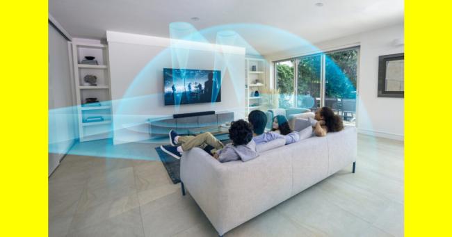 Sony HT-A5000 soundbar. Μοναδική εμπειρία Home Cinema με Dolby Atmos 5.1.2 καναλιών!